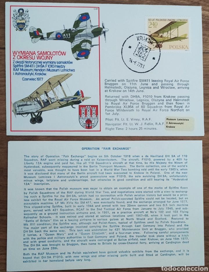 Sellos: WW2 - ALBUM CON 44 SOBRES CONMEMORATIVOS DE LA ROYAL AIR FORCE FILATELIA COVERS STAMPS RAF AVIACION - Foto 15 - 212774787