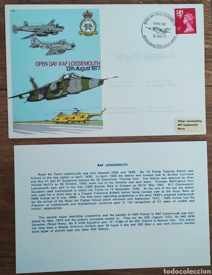 Sellos: WW2 - ALBUM CON 44 SOBRES CONMEMORATIVOS DE LA ROYAL AIR FORCE FILATELIA COVERS STAMPS RAF AVIACION - Foto 22 - 212774787