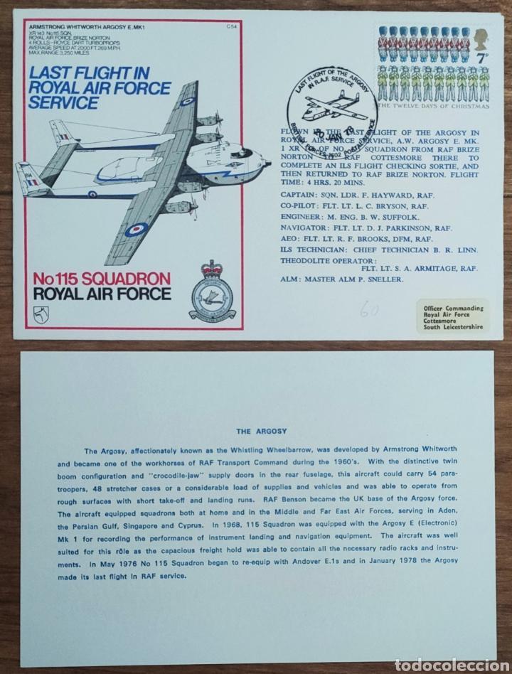 Sellos: WW2 - ALBUM CON 44 SOBRES CONMEMORATIVOS DE LA ROYAL AIR FORCE FILATELIA COVERS STAMPS RAF AVIACION - Foto 28 - 212774787