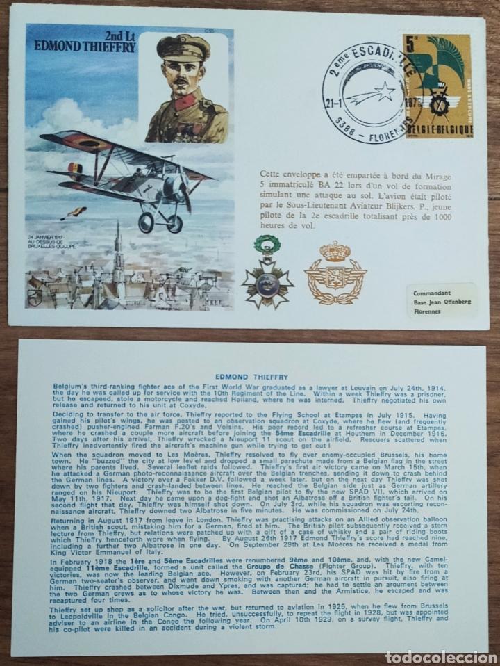 Sellos: WW2 - ALBUM CON 44 SOBRES CONMEMORATIVOS DE LA ROYAL AIR FORCE FILATELIA COVERS STAMPS RAF AVIACION - Foto 9 - 212774787