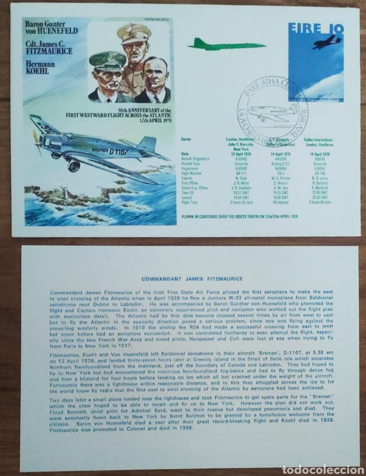 Sellos: WW2 - ALBUM CON 44 SOBRES CONMEMORATIVOS DE LA ROYAL AIR FORCE FILATELIA COVERS STAMPS RAF AVIACION - Foto 31 - 212774787