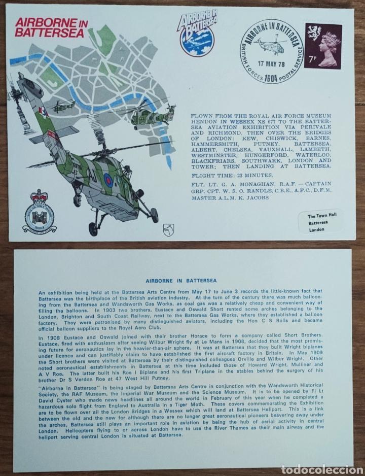 Sellos: WW2 - ALBUM CON 44 SOBRES CONMEMORATIVOS DE LA ROYAL AIR FORCE FILATELIA COVERS STAMPS RAF AVIACION - Foto 35 - 212774787