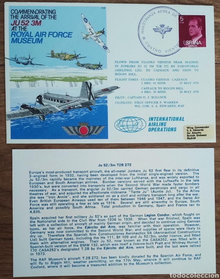 Sellos: WW2 - ALBUM CON 44 SOBRES CONMEMORATIVOS DE LA ROYAL AIR FORCE FILATELIA COVERS STAMPS RAF AVIACION - Foto 37 - 212774787
