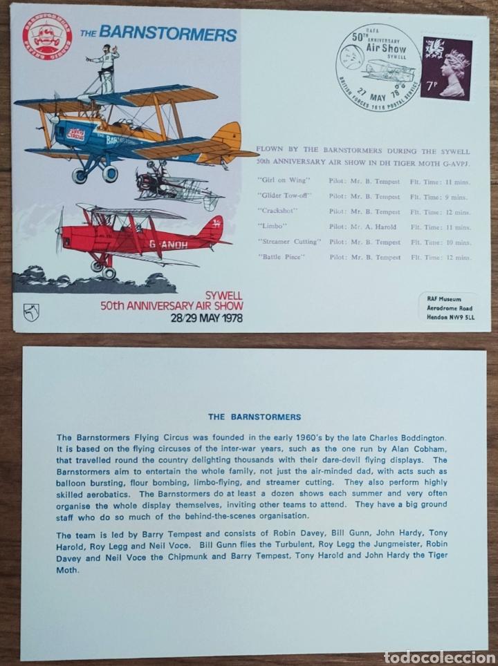 Sellos: WW2 - ALBUM CON 44 SOBRES CONMEMORATIVOS DE LA ROYAL AIR FORCE FILATELIA COVERS STAMPS RAF AVIACION - Foto 38 - 212774787