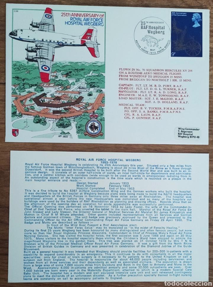Sellos: WW2 - ALBUM CON 44 SOBRES CONMEMORATIVOS DE LA ROYAL AIR FORCE FILATELIA COVERS STAMPS RAF AVIACION - Foto 41 - 212774787