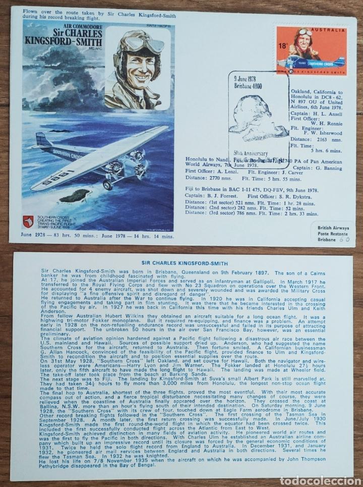 Sellos: WW2 - ALBUM CON 44 SOBRES CONMEMORATIVOS DE LA ROYAL AIR FORCE FILATELIA COVERS STAMPS RAF AVIACION - Foto 32 - 212774787