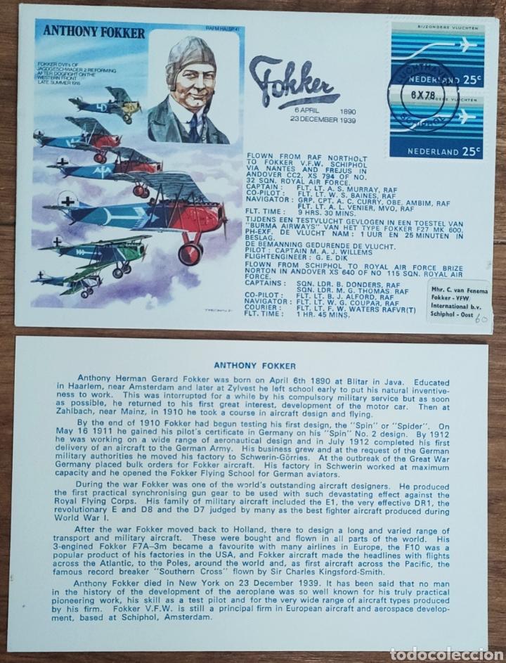 Sellos: WW2 - ALBUM CON 44 SOBRES CONMEMORATIVOS DE LA ROYAL AIR FORCE FILATELIA COVERS STAMPS RAF AVIACION - Foto 44 - 212774787