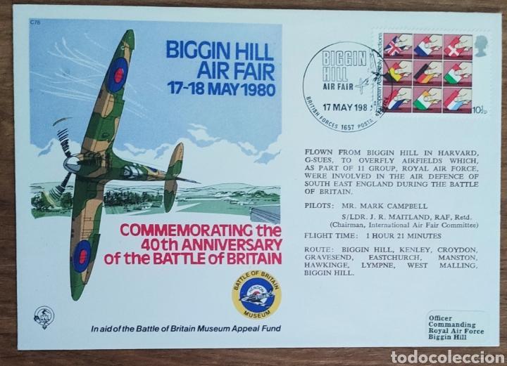 Sellos: WW2 - ALBUM CON 44 SOBRES CONMEMORATIVOS DE LA ROYAL AIR FORCE FILATELIA COVERS STAMPS RAF AVIACION - Foto 47 - 212774787