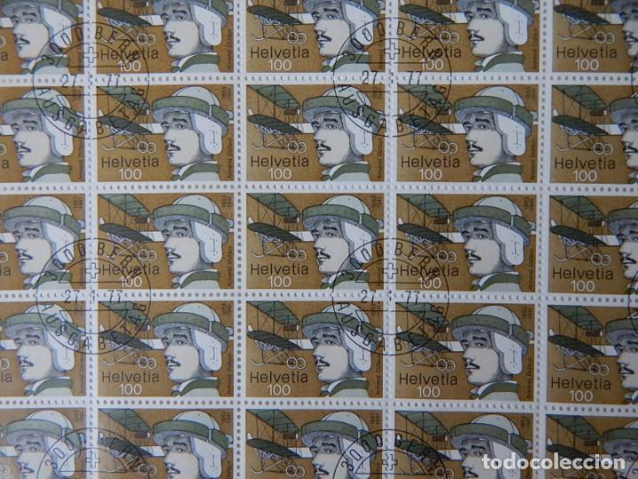 Sellos: 2 HB Suiza 1977 – Pioneros aviación / Flight Pioneers / Armand Dufaux - Walter Mittelholzer - Foto 6 - 219037488