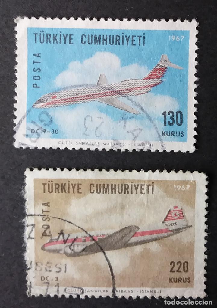 1967 TURQUÍA AVIONES (Sellos - Temáticas - Aviones)