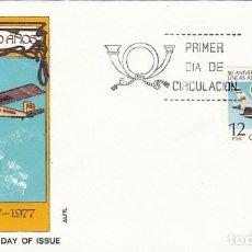 Sellos: EDIFIL 2448, 50 ANIVERSARIO DE IBERIA LINEAS AEREAS, PRIMER DIA DE 8-11-1977 EN SOBRE DE ALFIL. Lote 222455881