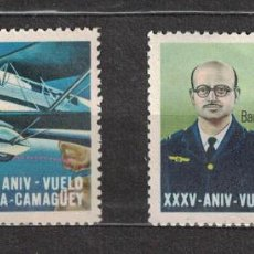 Sellos: 1409-3 CUBA 1968 MNH THE 35TH ANNIVERSARY OF THE SEVILLE-CAMAGUEY FLIGHT. Lote 228166217