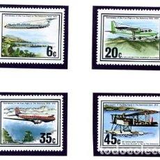 Sellos: SOLOMON - ISLAS SALOMON - TEMA AVIONES 1976 - NUEVOS. Lote 232003085