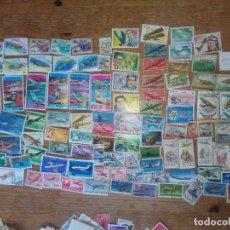 Sellos: AE2-LOTE 100 BONITOS SELLOS AVIONES AVIACION MUNDIAL MUNDIALES TEMATICOS CONMEMORATIVOS.-LOTE 100 BO. Lote 235536810