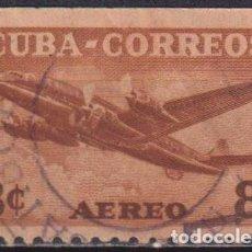Sellos: 392-3 CUBA 1953 U AIRMAIL. Lote 238903420