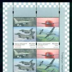 Sellos: POLAND 2008 MODERN AIRPLANES IN POLAND MNH - AIRCRAFT. Lote 241347080