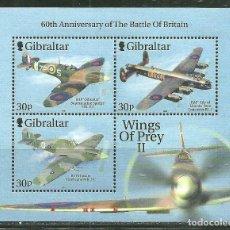 Sellos: GIBRALTAR 2000 HB IVERT 42 *** AVIONES DE LA ROYAL AIR FORCE. Lote 242134540