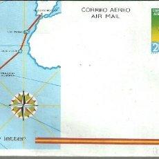 Sellos: LOTE 124 AEROGRAMAS DE DIFERENTES TEMÁTICAS - AÑOS 80 (VER FOTOS). Lote 245610515