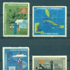 Sellos: ⚡ DISCOUNT CUBA 1971 WORLD METEOROLOGICAL DAY NG - SHIPS, CARDS, AIRCRAFT, NATURE, METEOROL. Lote 253847510