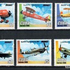 Sellos: ⚡ DISCOUNT CUBA 2006 AIRPLANES MNH - AVIATION, AIRCRAFT. Lote 255624705