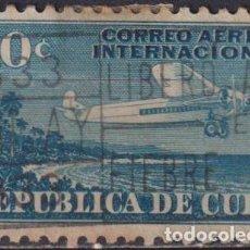 Sellos: ⚡ DISCOUNT CUBA 1931 FOR INTERNATIONAL USE U - AIRCRAFT. Lote 255642040
