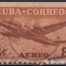 Sellos: ⚡ DISCOUNT CUBA 1953 AIRMAIL U - AIRCRAFT. Lote 255642325