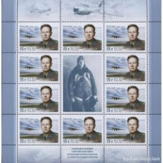 Sellos: ⚡ DISCOUNT RUSSIA 2014 THE 100TH ANNIVERSARY OF THE BIRTH OF MARK GALLAI MNH - AIRCRAFT, PIL. Lote 268834889