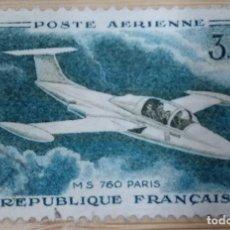 Sellos: REPUBLIQUE FRANCAISE. TEMATICA AVIONES.. Lote 268960734