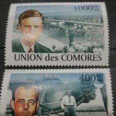 Sellos: SELLO COMORAS (I. COMORES) NUEVO/2008/PIONEROS/AVIACION/PILOTOS/AVIONES/VUELPS/OFERTA VS COMPRA. Lote 276972088