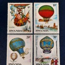 Sellos: RWANDA,GLOBOS 1984,YV.1141/48 /**. Lote 278453113
