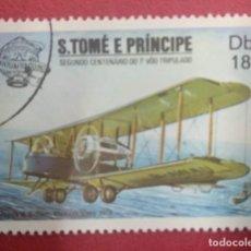 Sellos: S. TOMÉ E PRINCIPE . TEMATICA AVIONES.. Lote 288051143