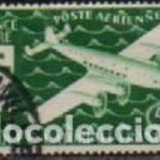 Sellos: AFRICA ECUATORIAL FRANCESA AEREO IVERT Nº 27, SERIE DE LONDRES (EXILIO EN LA 2ªGUERRA MUNDIAL) USADO. Lote 288368813