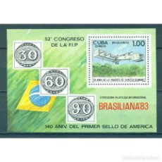 Sellos: ⚡ DISCOUNT CUBA 1983 THE BRASILIANA 83 INTERNATIONAL STAMP EXHIBITION, RIO DE JANEIRO MNH -. Lote 295931098