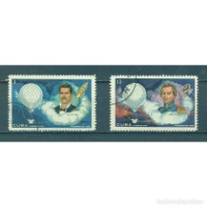 Sellos: ⚡ DISCOUNT CUBA 1970 THE AVIATION PIONEERS U - SPACE, BALLOONS, AVIATION. Lote 295933108