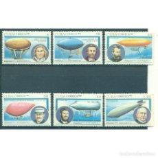 "Sellos: ⚡ DISCOUNT CUBA 1991 AIRSHIPS - IBERIA-LATIN AMERICA STAMP EXHIBITION ""ESPAMER '91"" - BUENOS A. Lote 295941743"
