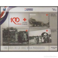 Sellos: ⚡ DISCOUNT PARAGUAY 2019 THE 100TH ANNIVERSARY OF THE PARAGUAYAN RED CROSS MNH - CARS, THE M. Lote 297139308