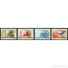 Sellos: ⚡ DISCOUNT MONGOLIA 1999 HISTORY OF MONGOLIAN POST MNH - AIRCRAFT, HORSES, MAIL HISTORY. Lote 297141788