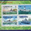 Sellos: GIBRALTAR HB 17** - AÑO 1993 - BARCOS DE GUERRA. Lote 25848556