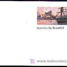 Sellos: USA 1989 ENTERO POSTAL PUERTO DE BALTIMORE. Lote 6378825