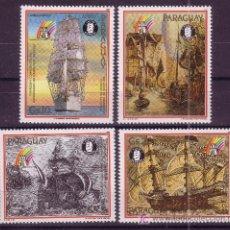 Sellos: PARAGUAY AEREO 1134/38*** - AÑO 1989 - 800º ANIVERSARIO DE LA CIUDAD DE HAMBURGO - BARCOS. Lote 24945907