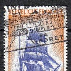 Sellos: BARCOS . VELERO TRES MASTILES. FRANCIA 1972 0.90 F YVERT 1717.. Lote 8145786