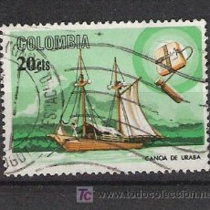 Timbres: COLOMBIA - BARCOS. Lote 12553825
