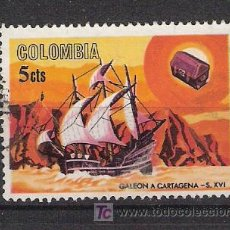 Timbres: COLOMBIA - BARCOS. Lote 12554020