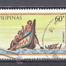 Timbres: FILIPINAS,BARCOS, USADOS. Lote 24902741