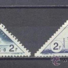 Sellos: MONACO, 1953, TASAS. Lote 25943194