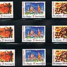 Sellos: 1992 ESPAÑA MAR Y BARCOS (3157) (3163) (3164 A 3187) (3191) (3195) (3196) (3204 A 3209) (3223) . Lote 28809529