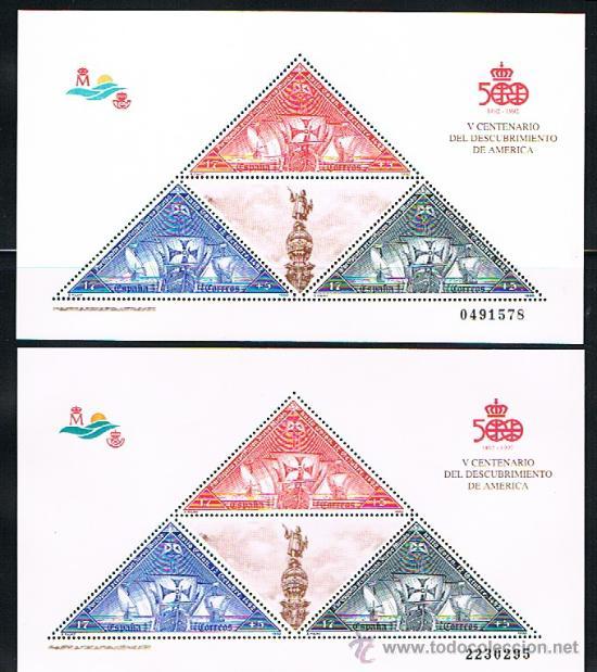 Sellos: 1992 ESPAÑA MAR y BARCOS (3157) (3163) (3164 a 3187) (3191) (3195) (3196) (3204 a 3209) (3223) - Foto 2 - 28809529