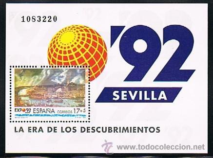 Sellos: 1992 ESPAÑA MAR y BARCOS (3157) (3163) (3164 a 3187) (3191) (3195) (3196) (3204 a 3209) (3223) - Foto 5 - 28809529
