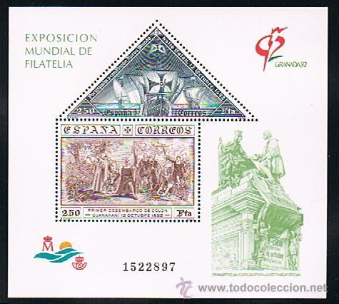Sellos: 1992 ESPAÑA MAR y BARCOS (3157) (3163) (3164 a 3187) (3191) (3195) (3196) (3204 a 3209) (3223) - Foto 6 - 28809529
