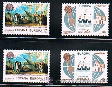 Sellos: 1992 ESPAÑA MAR y BARCOS (3157) (3163) (3164 a 3187) (3191) (3195) (3196) (3204 a 3209) (3223) - Foto 7 - 28809529